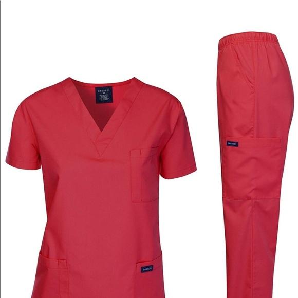 0281 Dagacci Scrubs Medical Uniform Women and Man